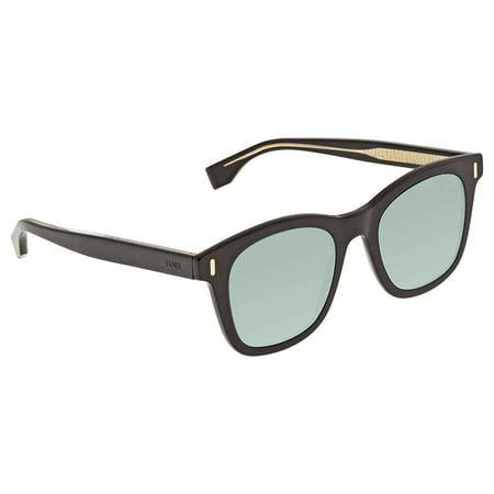 Fendi Green Square Men's Sunglasses FFM0040S807QT50
