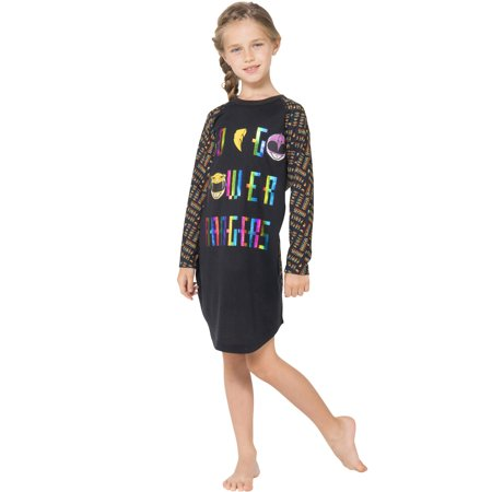 Power Rangers 'Go Go Power Rangers' Raglan Nightgown (Little Girls & Big Girls) (Girls Power Ranger)