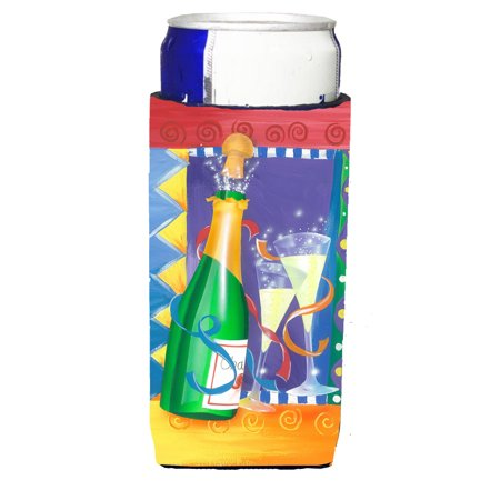 New Years Celebration Toast Michelob Ultra beverage insulators for slim cans APH8556MUK