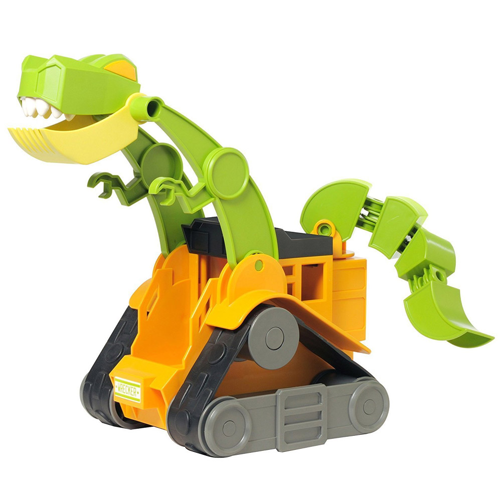 Educational Insights Dino Construction Company, Wrecker The T-Rex Skid Loader