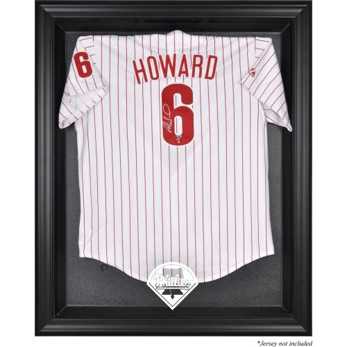 Philadelphia Phillies Fanatics Authentic Black Framed Logo Jersey Display Case - No Size