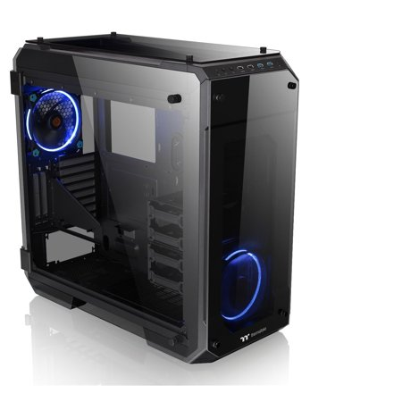 Thermaltake View 71 4x Temepred Glass Full Tower Large Open Gaming Computer Chassis -