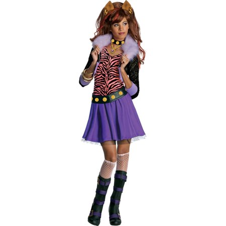 Morris costumes RU884788SM Mh Clawdeen Wolf Child (Wolf In Sheep's Clothing Costume)