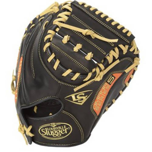 "Louisville Slugger Omaha Series 5 33.5"" Catcher's Mitt by Wilson Sporting Goods"