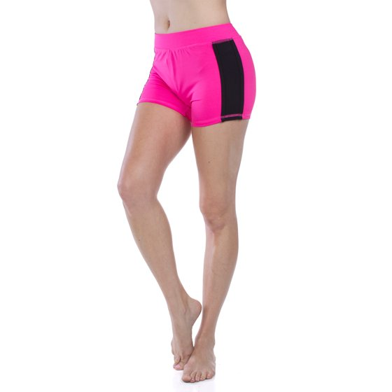 f59e814f2a emmalise - emmalise junior women's yoga gym workout shorts legging ...