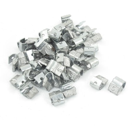 50 Pieces Motorcycle Car Clip Tyre Tire Wheel Balancing Weights 5 Gram
