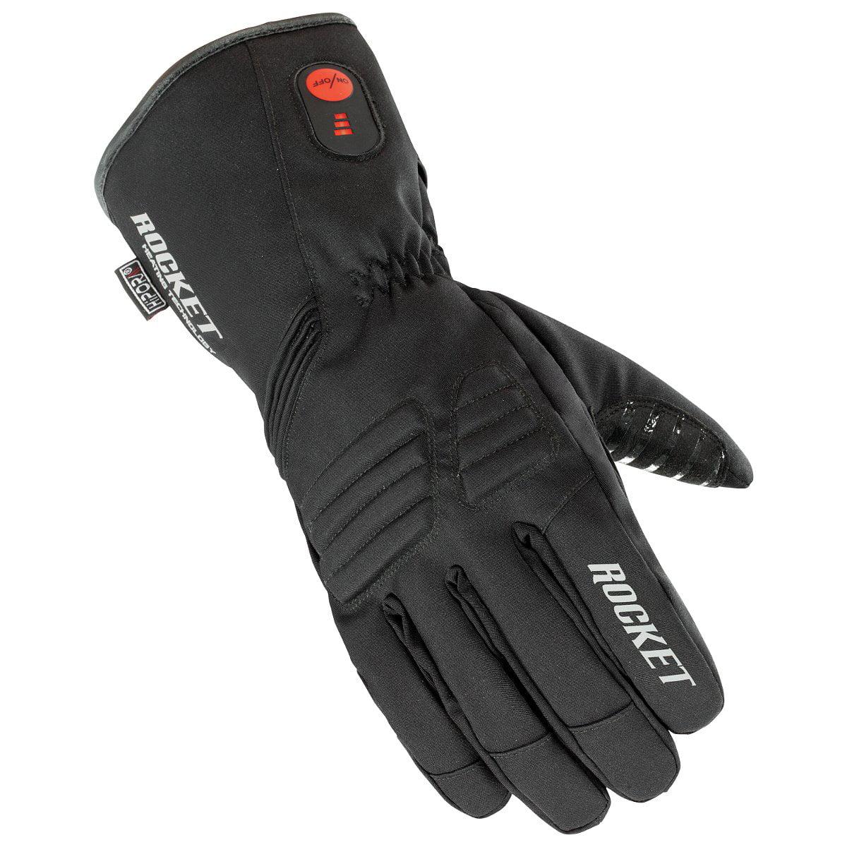 Joe Rocket Rocket Burner Mens Heated Textile Snowmobile Gloves