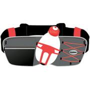 FuelBelt Revenge R10 1-Bottle Hydration Belt: Red One Size