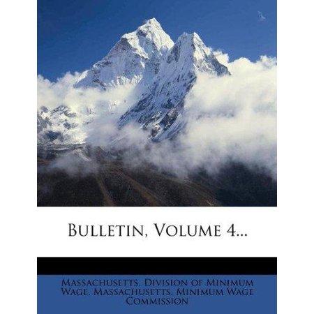 Bulletin, Volume 4... - image 1 of 1