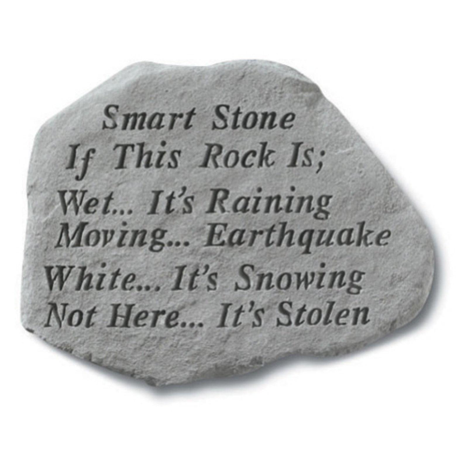 Smart Stone Garden Accent Stone