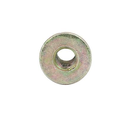 Unique Bargains M4x8mm Zinc Alloy T-Shaped Through-Hole Barbed Body Insert Nut 15pcs - image 1 of 3