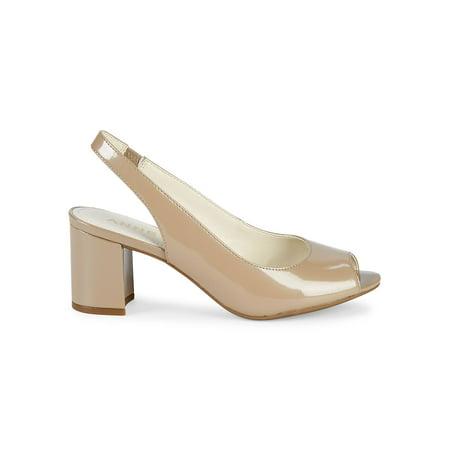 Maurise Slingback Peep-Toe Pumps Anne Klein Peep Toe Shoes