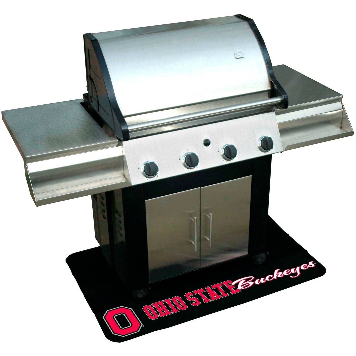 Mr. Bar-B-Q NCAA Protective Grill Mat, Ohio State Buckeyes