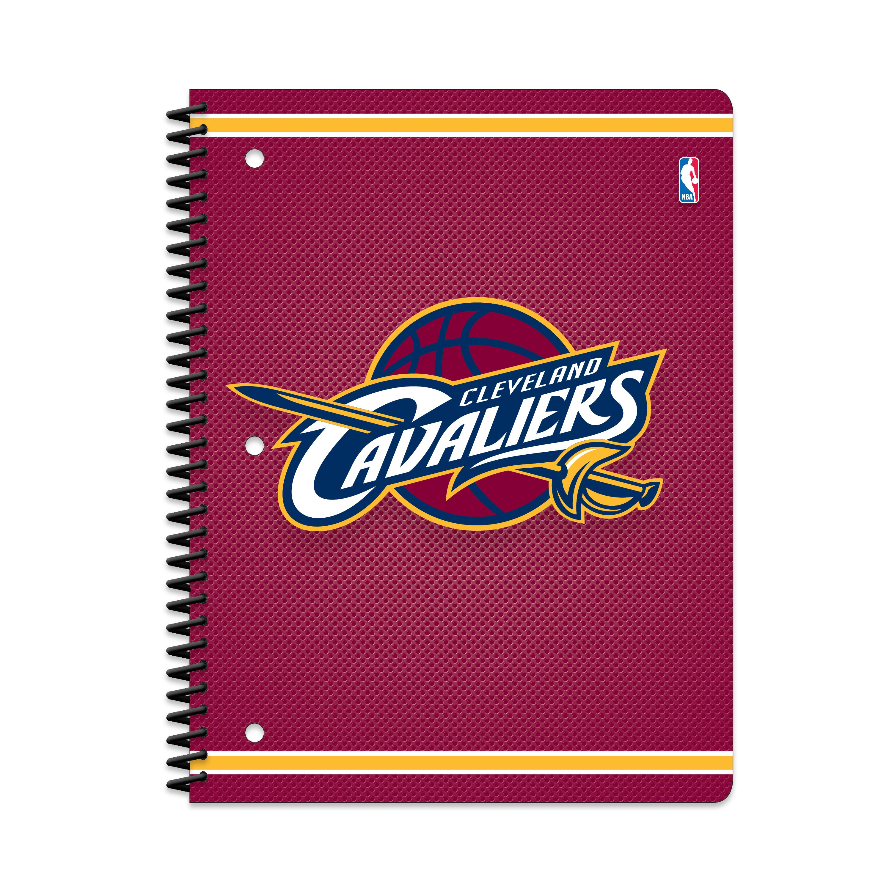 CLEVELAND CAVALIERS CLASSIC 1-SUBJECT NOTEBOOK