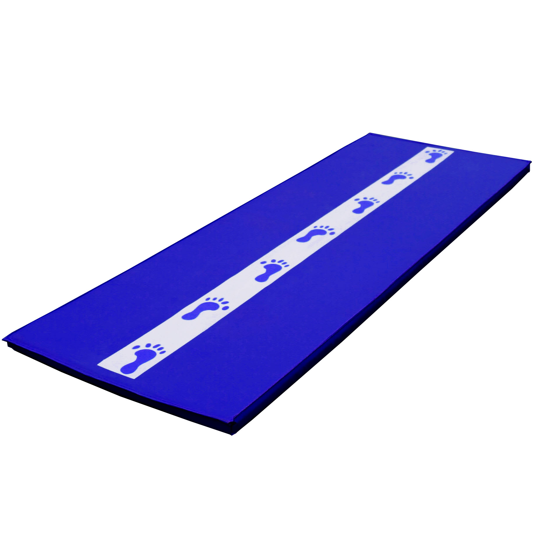 Z Athletic Gymnastics Cartwheel Beam Training Mat Blue