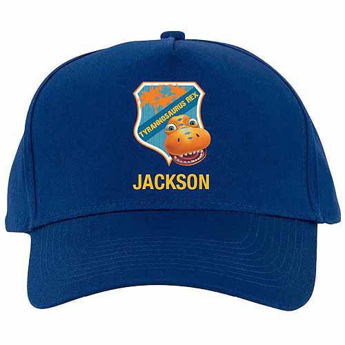 Personalized Dinosaur Train Tyrannosaurus Rex Blue Baseball Cap
