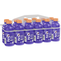 G2 Lower Sugar Gatorade Thirst Quencher Sports Drink, Grape, 12 Fl Oz, 12 Count