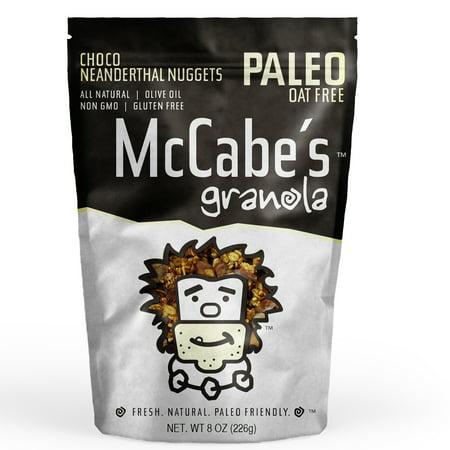 McCabe's Gluten Free Paleo Granola, Chocolate Neanderthal, 8 Oz