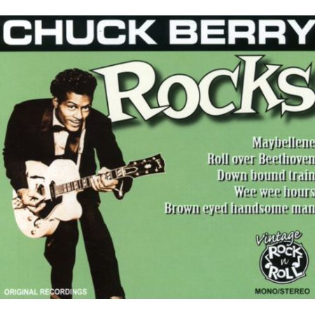 Chuck Berry   Rocks  Cd