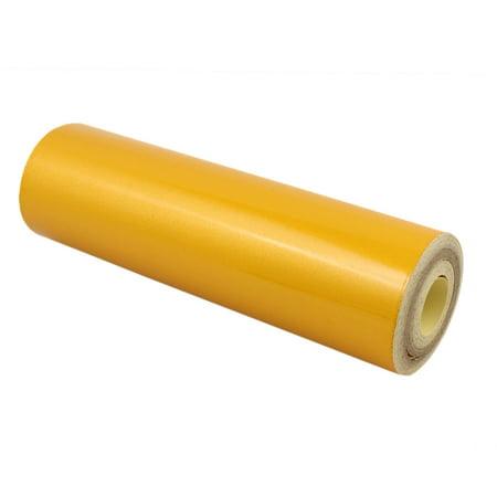 20cmx10m face autocollants sécurité réfléchissants Avertissement jaune - image 3 de 3