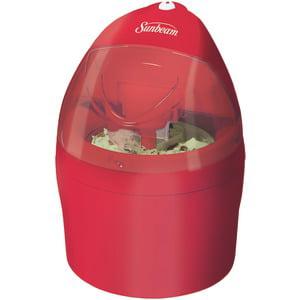 Jarden Sunbeam Gel Ice Cream Maker Frozen Treats 1 Quart Red