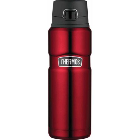 Thermos Stainless King 24 oz Drink Bottle, (Thermos Stainless Steel King 24 Ounce Drink Bottle)