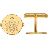 NHL Toronto Maple Leafs 14kt Yellow Gold Cuff Links