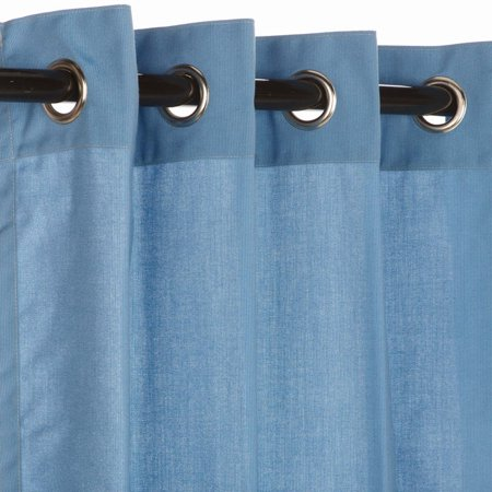 Sunbrella Outdoor Spectrum Curtain with Grommets - Outdoor Fabric Curtains