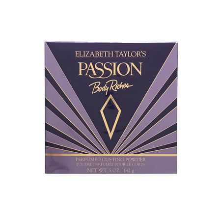 Elizabeth Taylor Passion Dusting Powder, 5 Oz (Passion Dusting Powder)