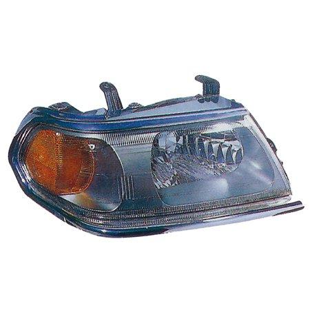 2000-2004 Mitsubishi Montero Sport Passenger Right Chrome Headlight Lamp - Mitsubishi Montero Sport Headlight Door