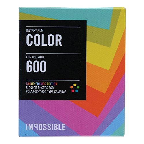 Impossible PRD2959 Color Film for Polaroid 600-Type Camera Frame (5-Pack)