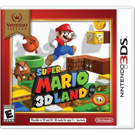 Super Mario 3D Land (Nintendo Selects), Nintendo, Nintendo 3DS, 045496744946 (Super Teacher.com)