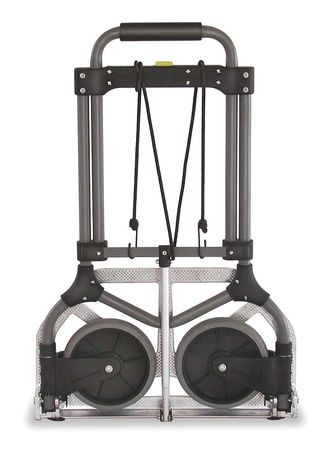 2NXC8 Folding Hand Truck, 225 lb.Load Cap. by VALUE BRAND