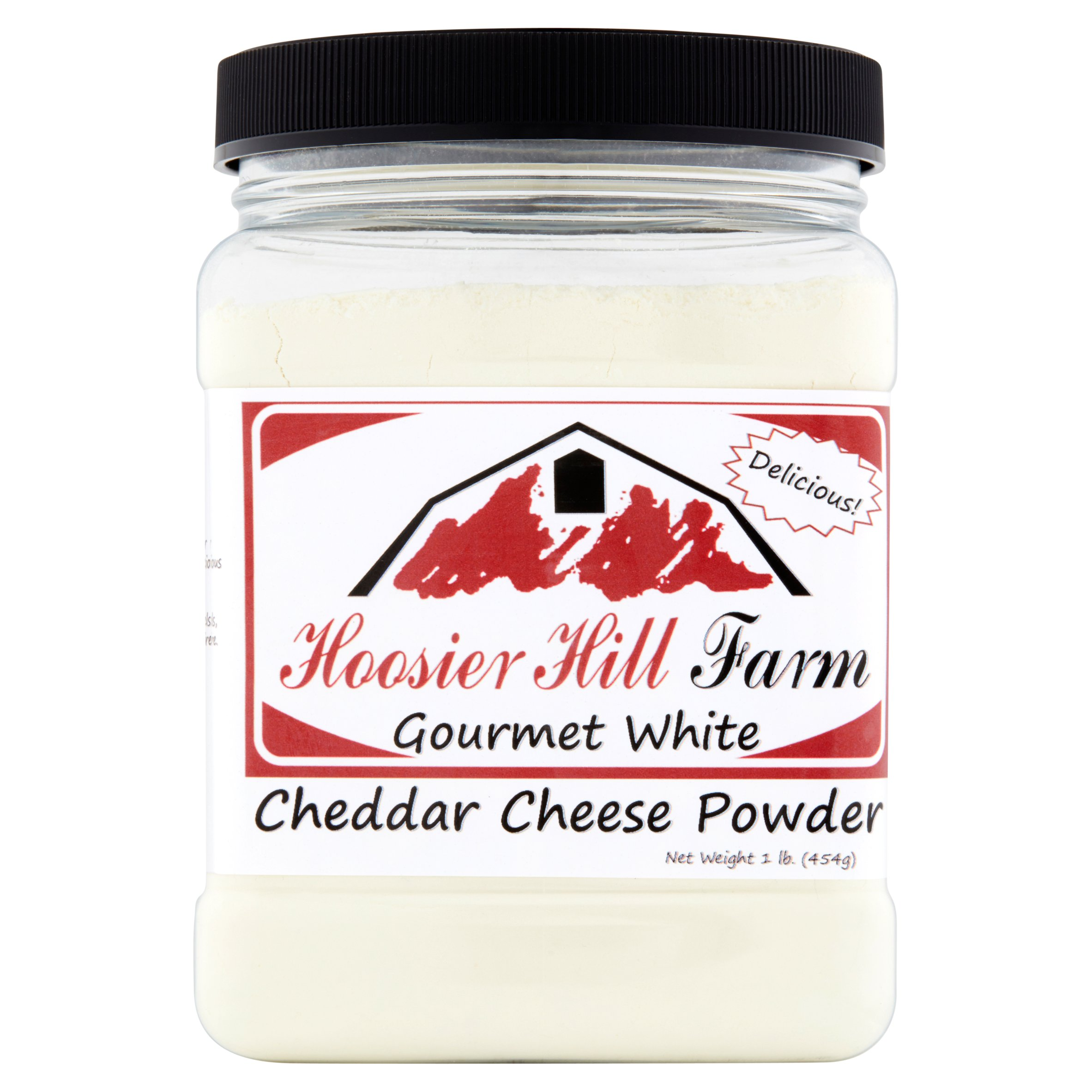 Hoosier Hill Farm Gourmet White Cheddar Cheese Powder, 1 lb by Hoosier Hill Farm