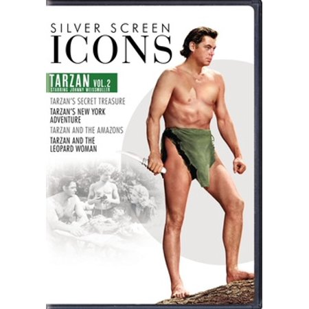 Silver Screen Icons: Johnny Weissmuller as Tarzan Volume 2 (DVD)
