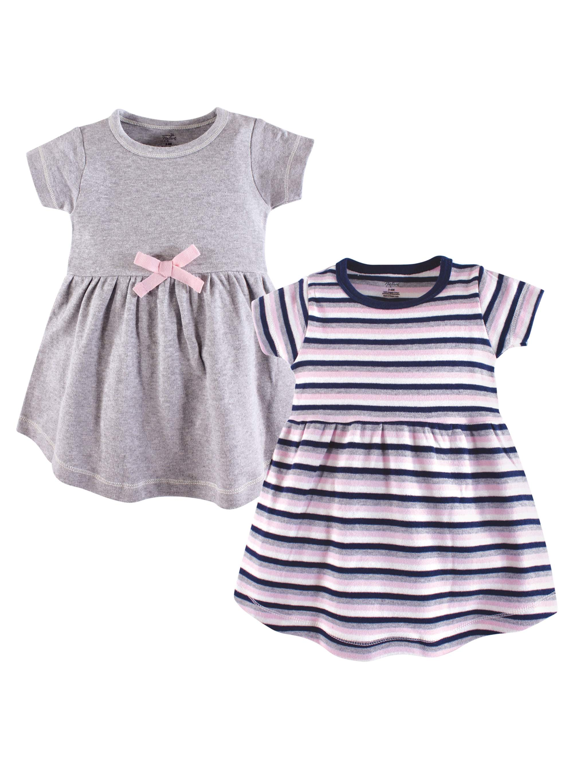 Organic Dress 2Pk (Baby Girls)