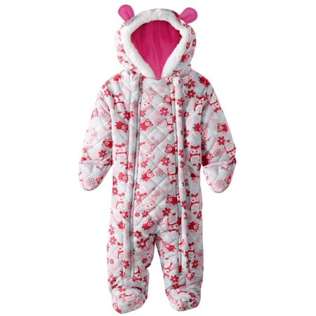 c7aa15053 Pink Platinum - Pink Platinum Baby Girls Owl Printed Micro Fleece ...