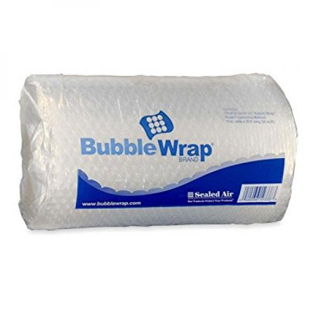 Sealed Air SEL19338 Bubble Wrap Cushioning Material, 3/16 Inch Thick, 12 Inches x 30 Feet (19338)
