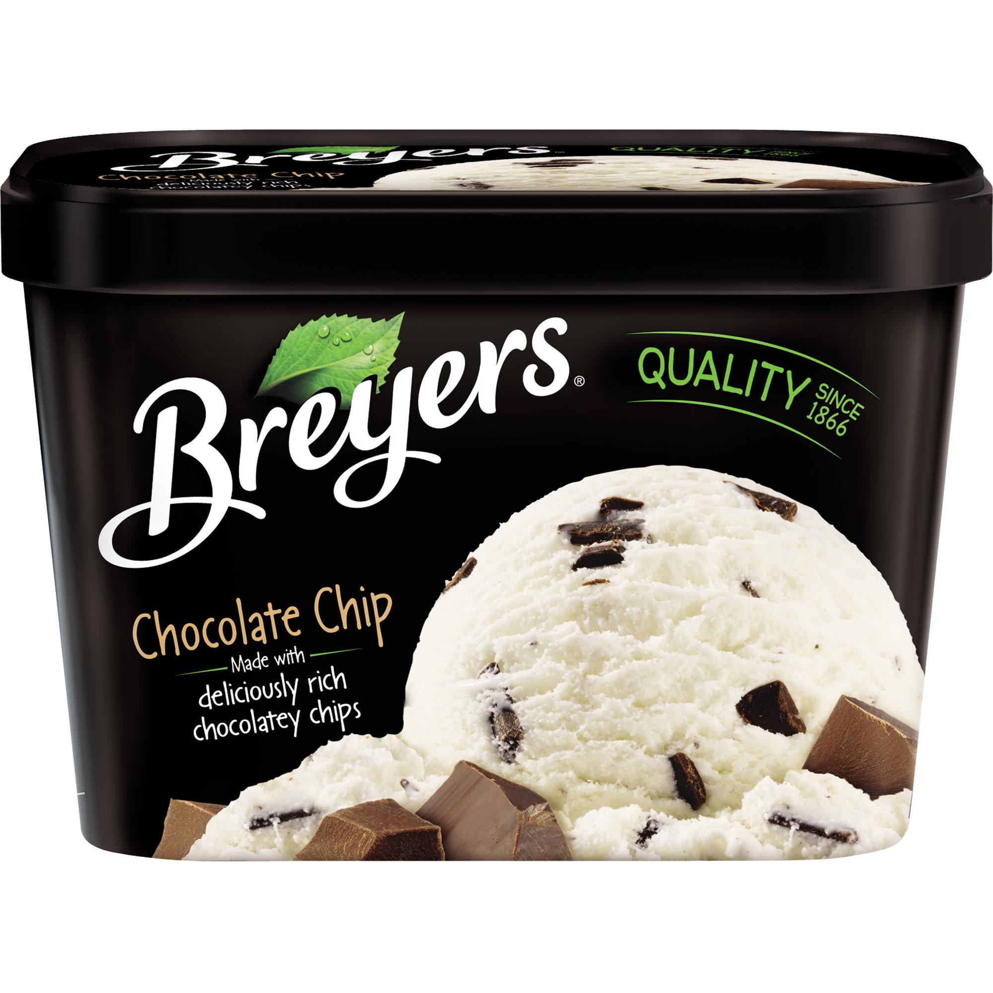 Breyers Chocolate Chip Frozen Dairy Dessert, 48 oz