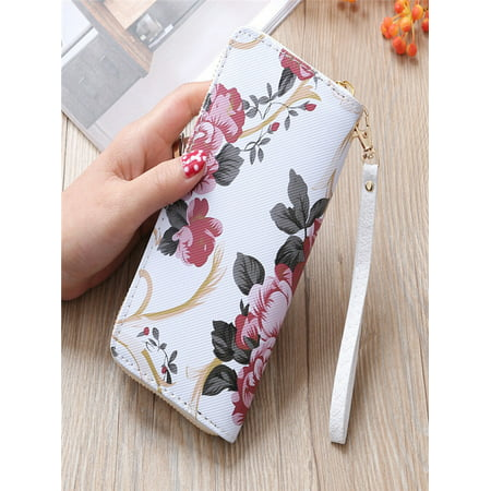 Fashion Women Stone Road Wallet Coin Bag Purse Phone Bag A