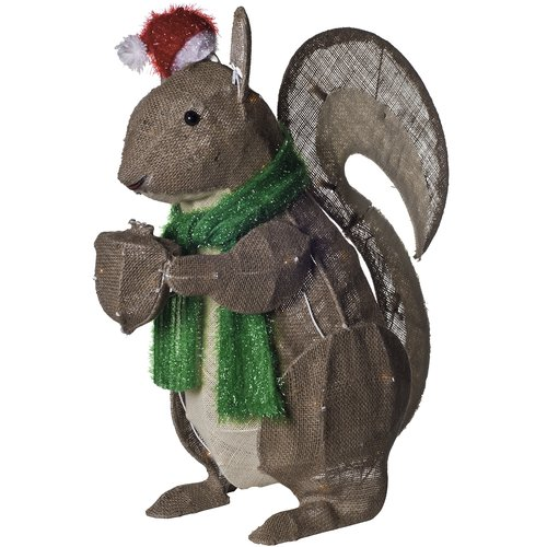 Dyno Seasonal Solutions Squirrel Christmas Decoration