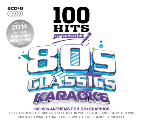 100 Hits Presents-80s Classics Karaoke 100 Hits Presents-80s Classics Karaoke [CD] by