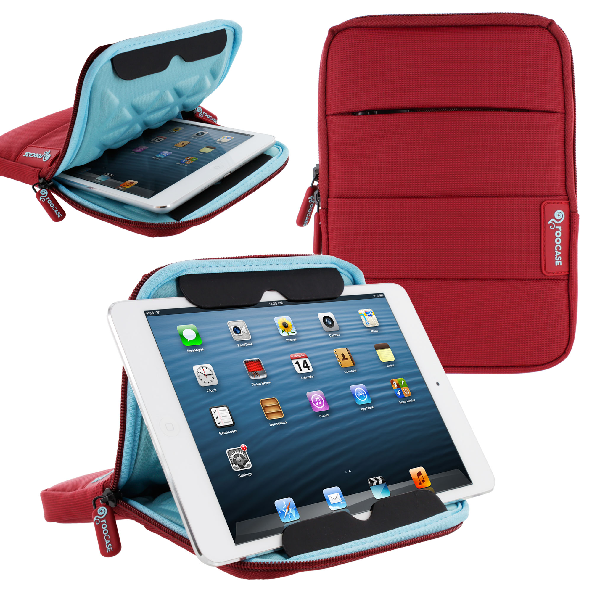 XTREME Super Foam Sleeve Cover for Apple iPad Mini / 7-Inch Tablet - Black