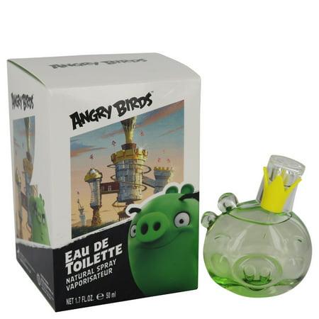 Angry Birds King Pig Eau De Toilette Spray (Unisex) By Air Val International 1.7