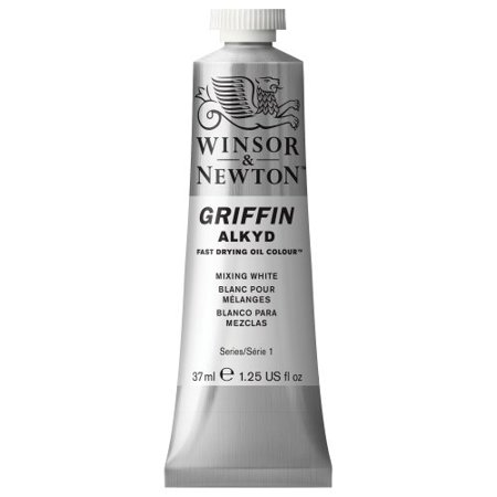 WINSOR & NEWTON / COLART 1914415 GRIFFIN ALKYD COLOUR 37ML MIXING WHITE