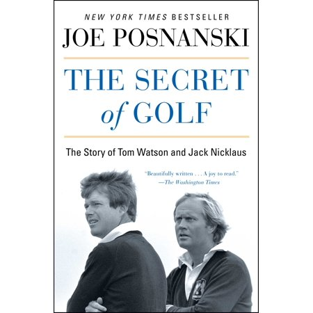Jack Nicklaus Hand Signed (The Secret of Golf : The Story of Tom Watson and Jack)