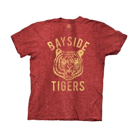 Saved by the Bell Bayside Tigers Heathered Burgundy T-shirt