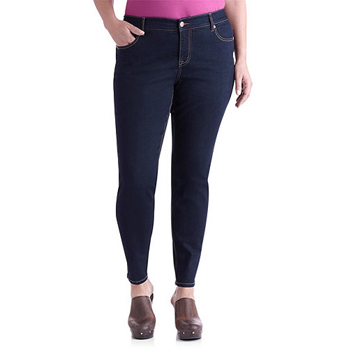 Faded Glory Women's Plus-Size Skinny Jeans