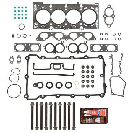 Evergreen HSHB9319 Head Gasket Set Head Bolts Fit 96-99 BMW 318i 318is 318ti Z3 1.9L DOHC 16V