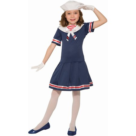 Halloween Sailor Girl Child Costume